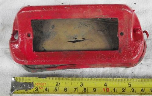 Massey Ferguson Tractor Rear Reflector Housing or Number Plate Light.